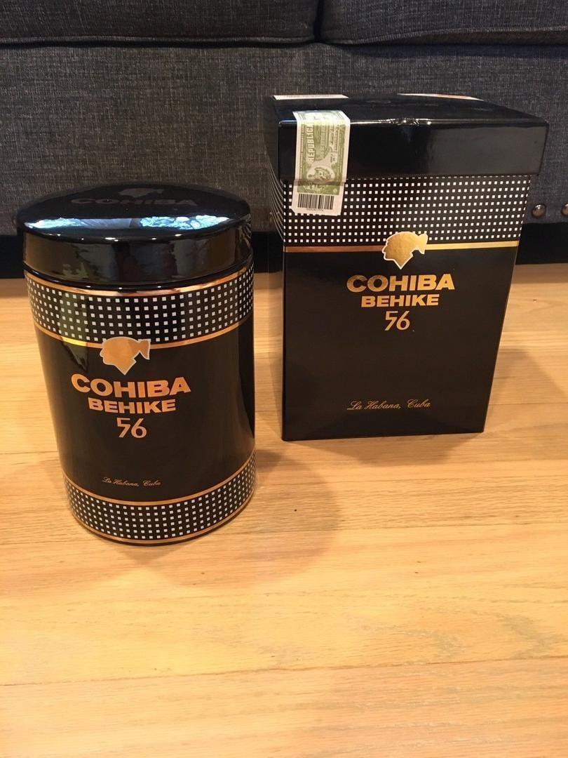 Cohiba Behike 56 Ceramic Jar (25 Cigars)